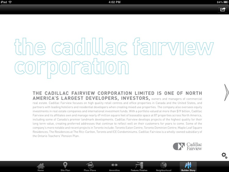 Flaire by Cadillac Fairview screenshot-3