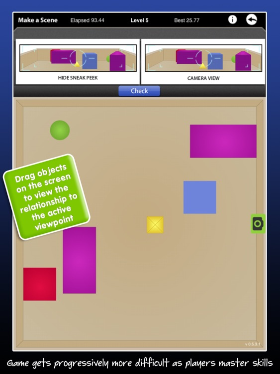 P.O.V. - Spatial Reasoning Game and Left Right Discrimination screenshot-3