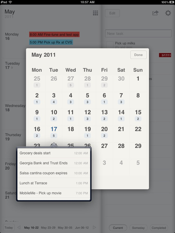 Planner for iPad - Weekly Calendar and Tasks screenshot-3