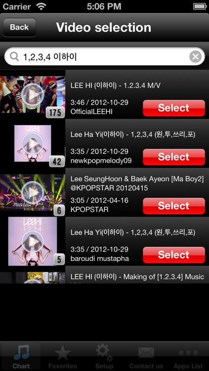 K-POP Hits! (FREE) - Get The Newest K-POP Charts! screenshot-3