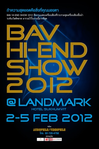 BAV HI-END SHOW 2012