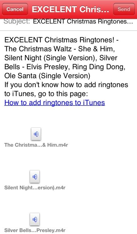 Best Christmas Sounds and Ringtones, High Quality Professional Ringtones! screenshot-3