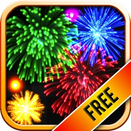 Real Fireworks Artwork Visualizer Free for iPhone and iPod Touch