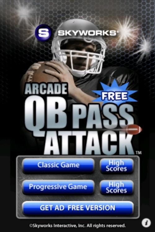 Arcade QB Pass Attack™ Football Free