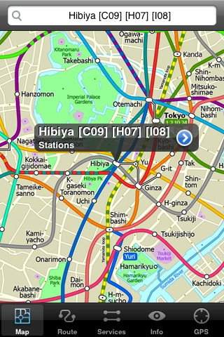 Tokyo Metro by Zuti