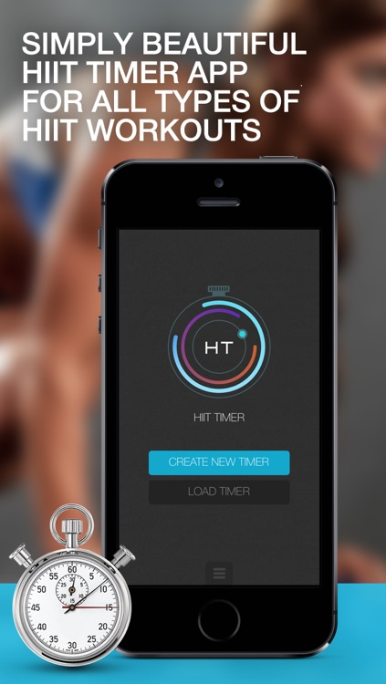 HIIT Timer - High Intensity Interval Training Timer for Weight Loss Workouts and Fitness