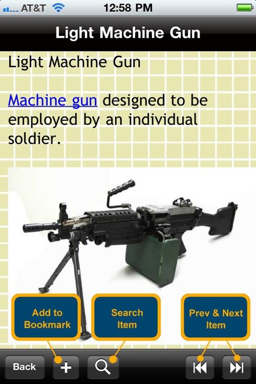 Guns & Ammunition Glossary screenshot-4