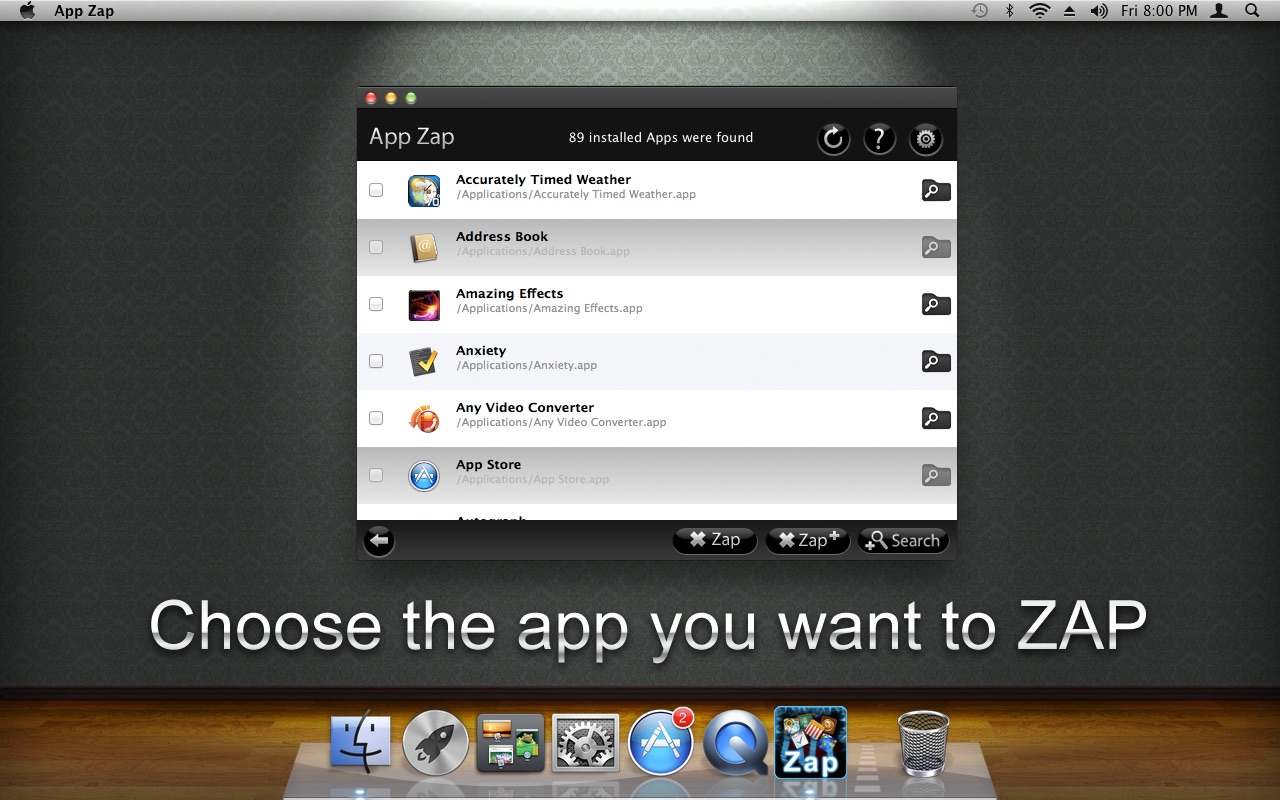 ‎App Zap on the Mac App Store