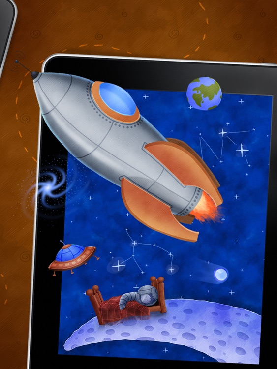 Who Stole The Moon? - free version - Interactive e-book for children screenshot-4