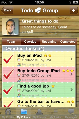 Todo Group - A collaborative task manager