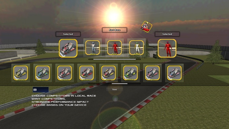 Go Kart Race screenshot-0