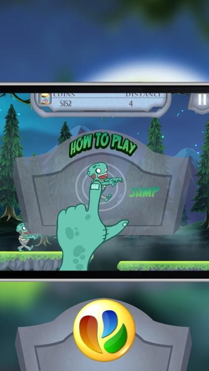 Action Zombies – A Fun Zombie Jump and Run Game screenshot-4