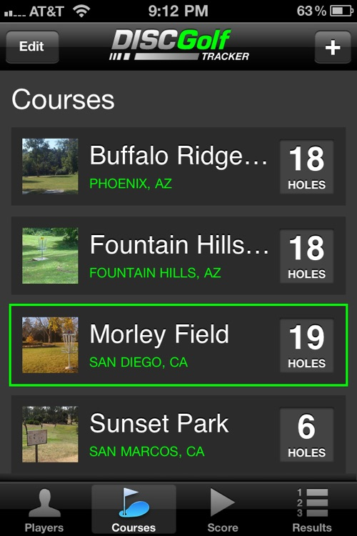Disc Golf Tracker screenshot-3