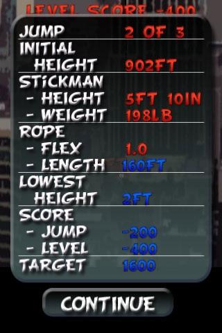 Bungee Stickmen - Classic Edition {FREE} screenshot-3