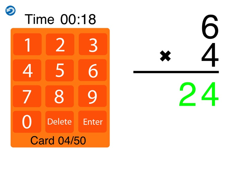 MathEdge HD: Multiplication screenshot-3