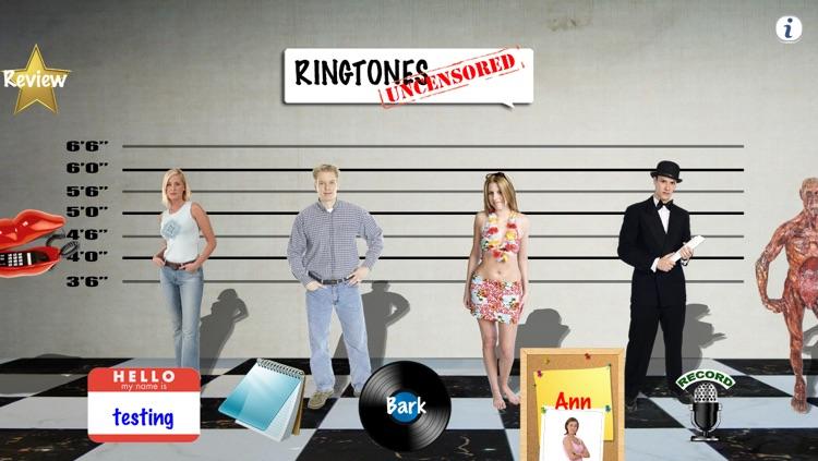Ringtones Uncensored: Funny Ringtone Voices