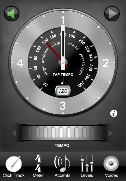 Clockwork - Metronome & Click Track screenshot-0