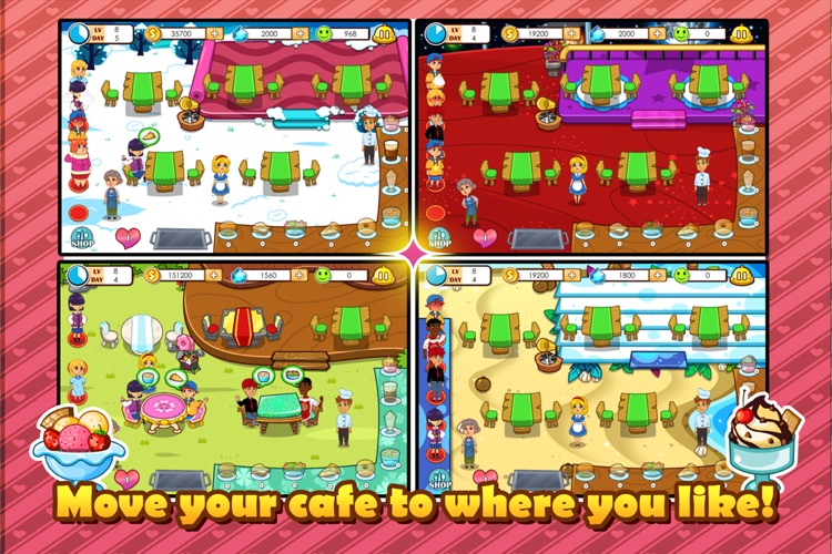 Lisa's Cafe screenshot-4