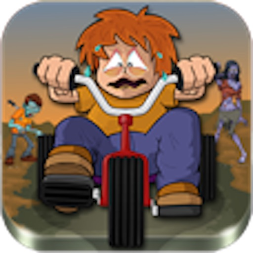 Motorcycle mayhem: zombie vs Alex icon