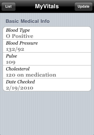 MyVitals screenshot-3