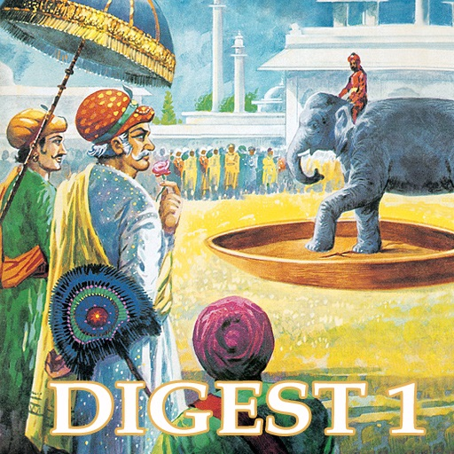 Tales Of Birbal Double Digest 1 - Amar Chitra Katha Comics icon