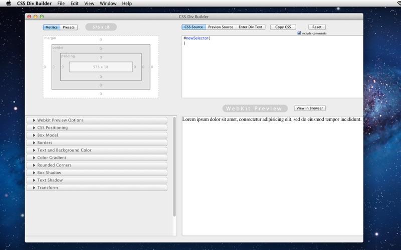 Css Div Builder review screenshots