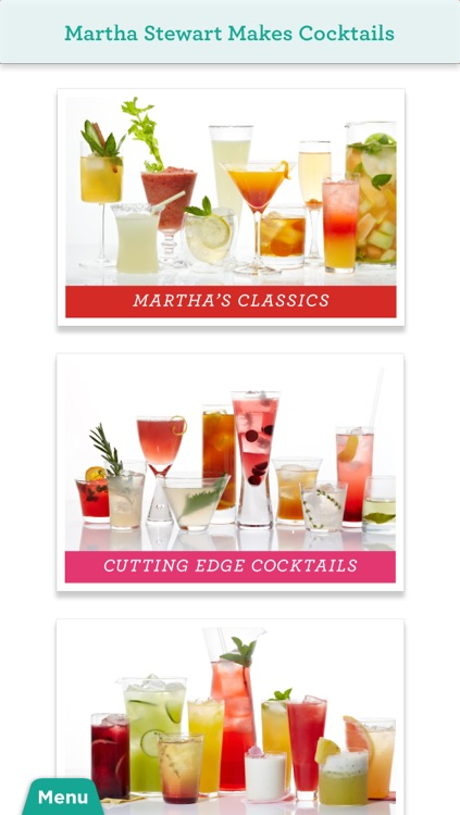 Martha Stewart Makes Cocktails for iPhone/iPod Touch screenshot-0