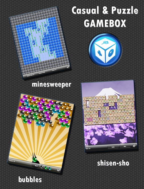 ALL-IN-1 Casual & Puzzle Gamebox HD FREE! screenshot-3