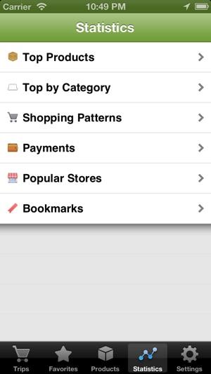 Shopmate Screenshot