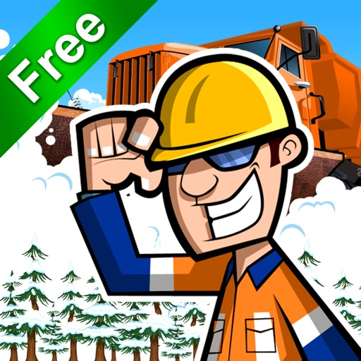 Snow Plow Truck Driver FREE - Race The Storm!