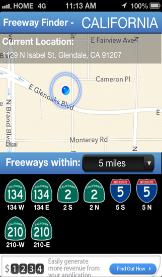 Freeway Finder screenshot two