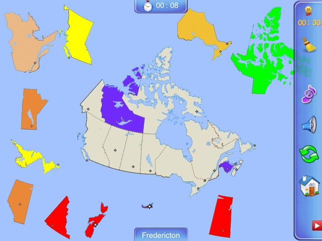 Canada Puzzle Map on the App Store