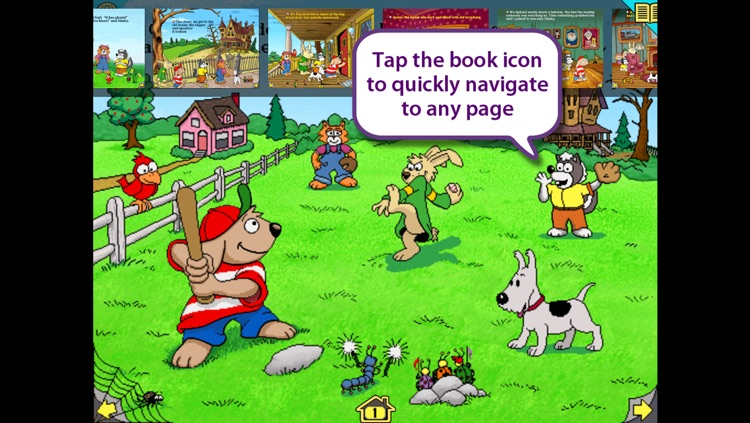 Harry and the Haunted House – Wanderful interactive storybook in English and Spanish