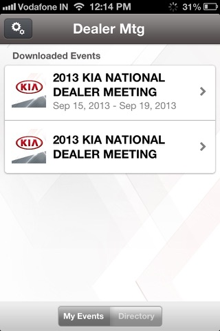 2013 Kia Dealer Meeting screenshot 3