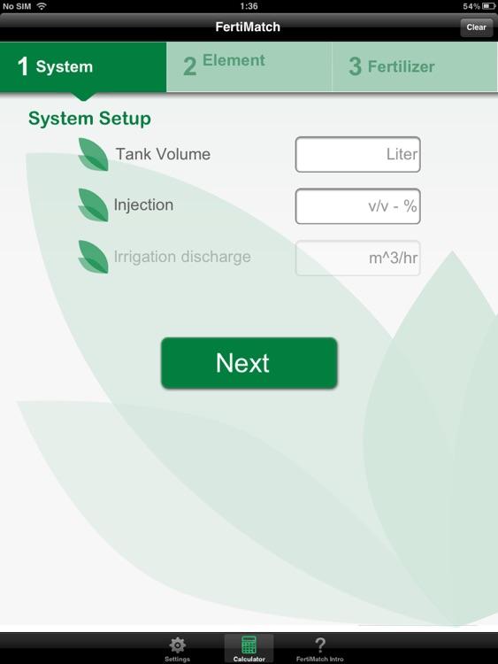 FertiMatch for iPad