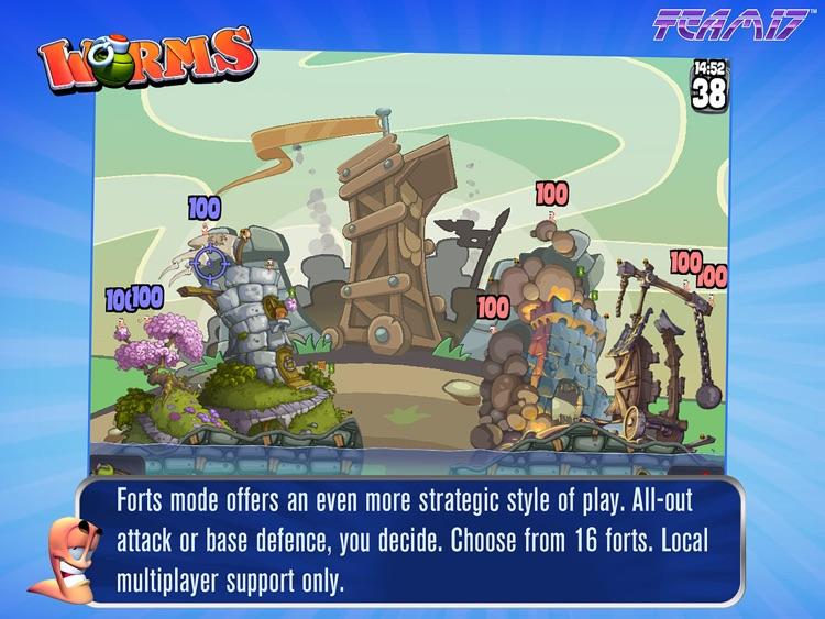 Worms HD screenshot-4