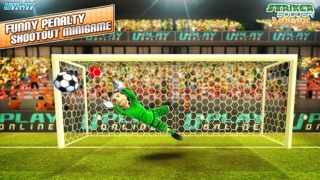 Striker Soccer London: your goal is the gold screenshot four
