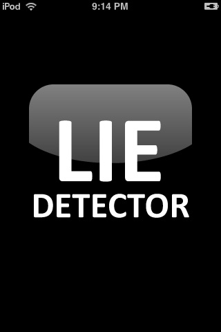 LIE DETECTOR -  VOICE ANALYSIS