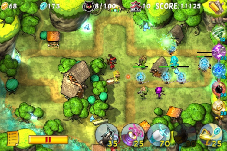 Ninja TD Lite screenshot-4