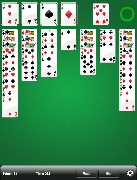 Solitaire HD FREE screenshot-2