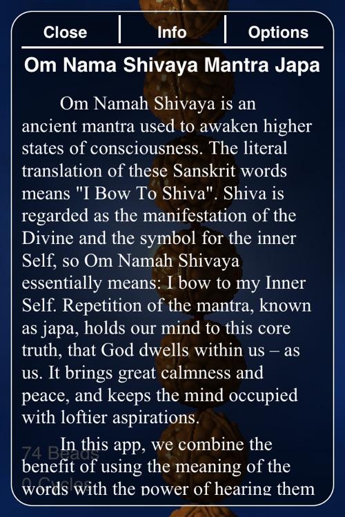 Om Namah Shivaya Japa