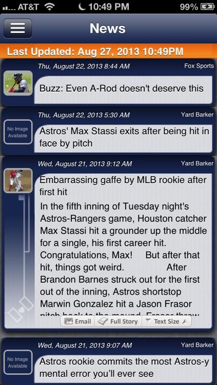 Houston Baseball Live screenshot-3