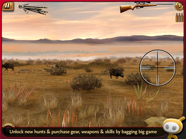 Deer Hunter: African Safari for iPad screenshot-4