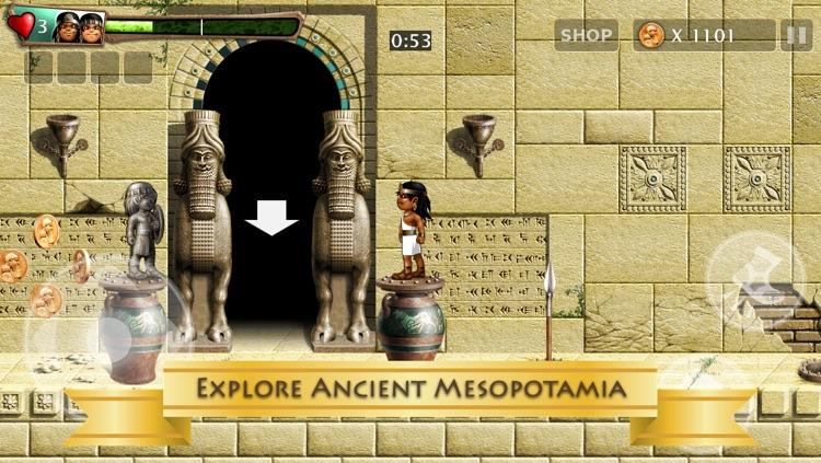 Babylonian Twins (Freemium) Puzzle Platformer screenshot-3