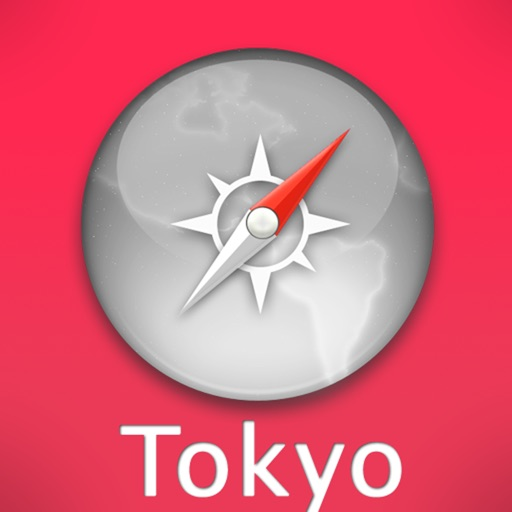 Tokyo Travel Map icon