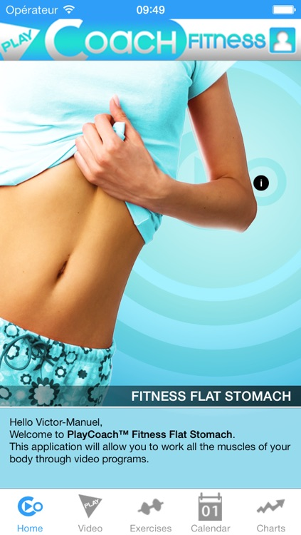 PlayCoach™ Fitness Flat Stomach