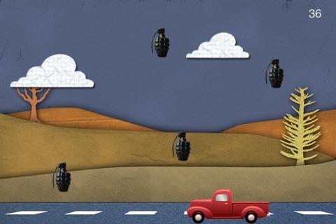 Truck vs Grenade