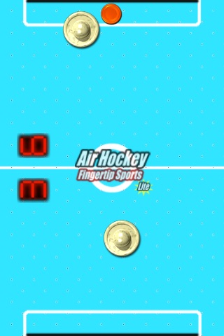 Air Hockey Fingertip Sports Lite screenshot-2