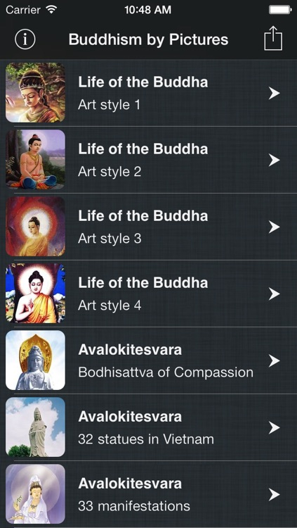 Buddhism by Pictures - Life of the Buddha & Bodhisattva Reference in Picture & Wallpaper for Every Buddhist screenshot-4