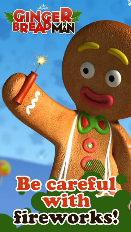 Talking Gingerbread Man screenshot-3